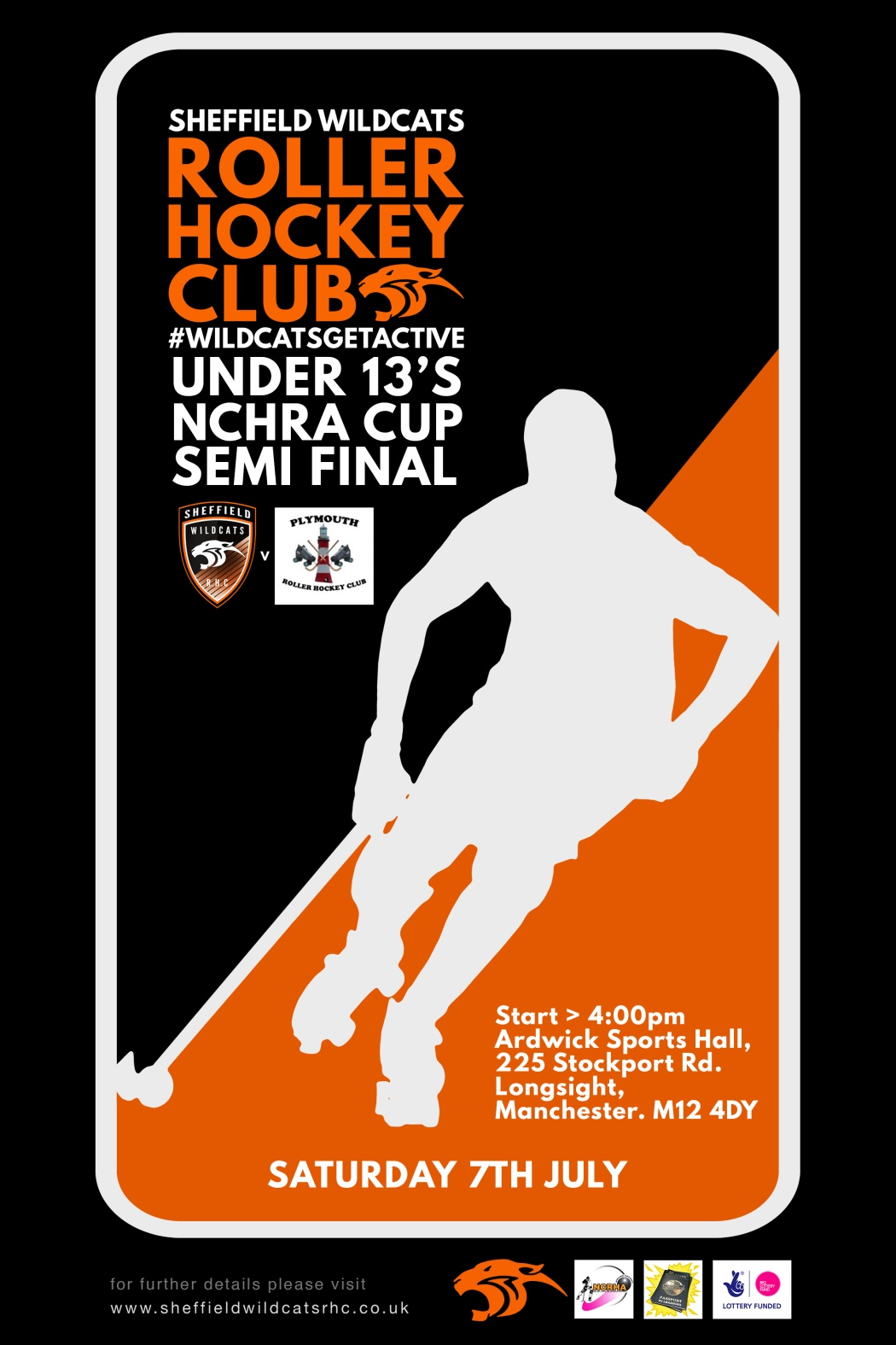 Under 13's CUP poster